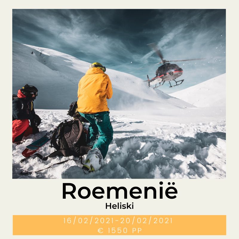 Roemenië Heliski The Wildlinger