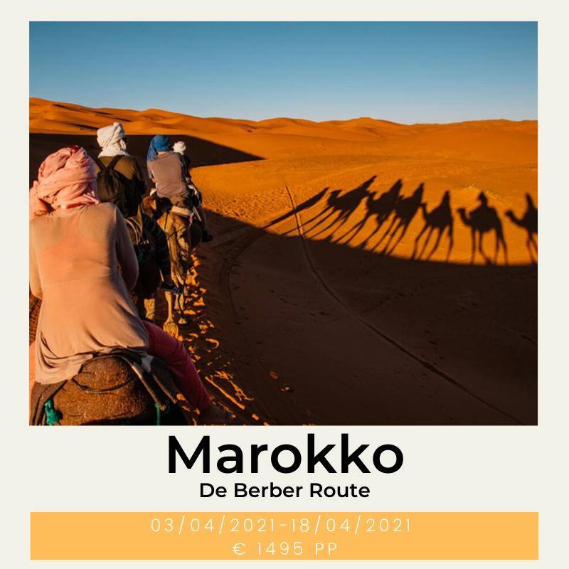 Marokko de berber route