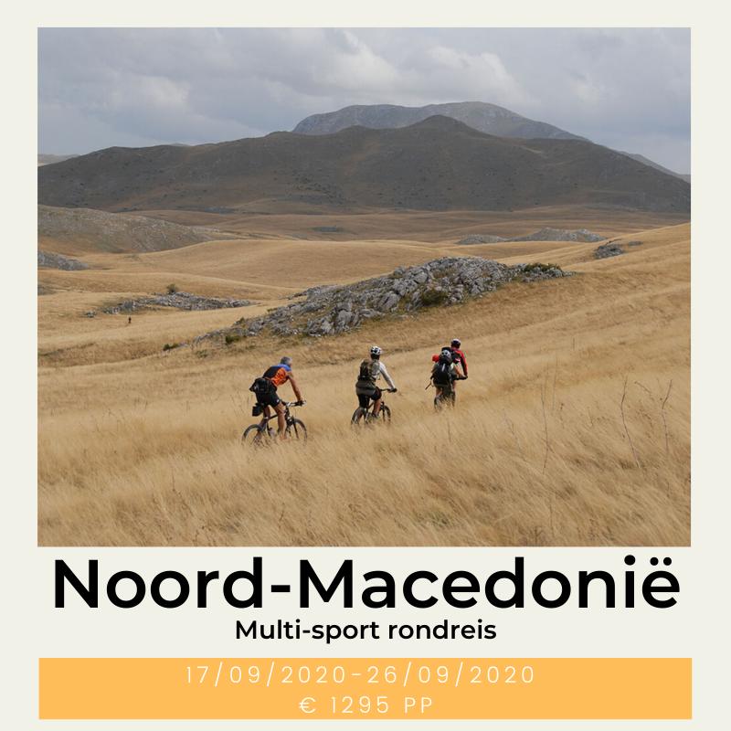 Noord-Macedonië multi sports rondreis