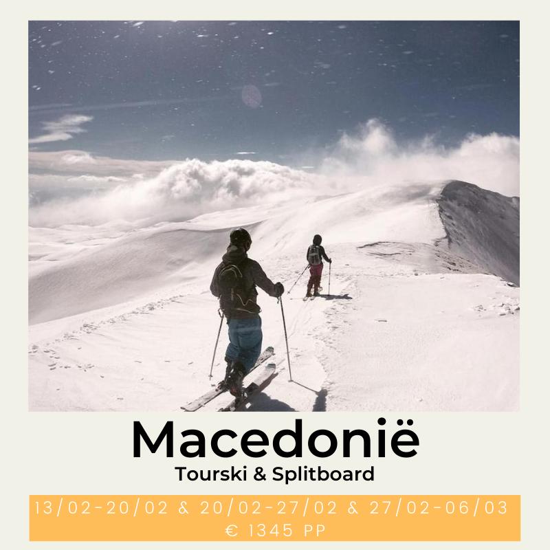 Macedonië Balkan tourski splitboard the wildlinger toerski