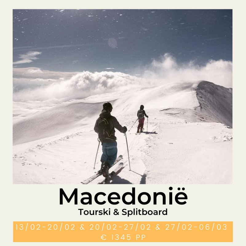 Macedonië Balkan tourski splitboard the wildlinger