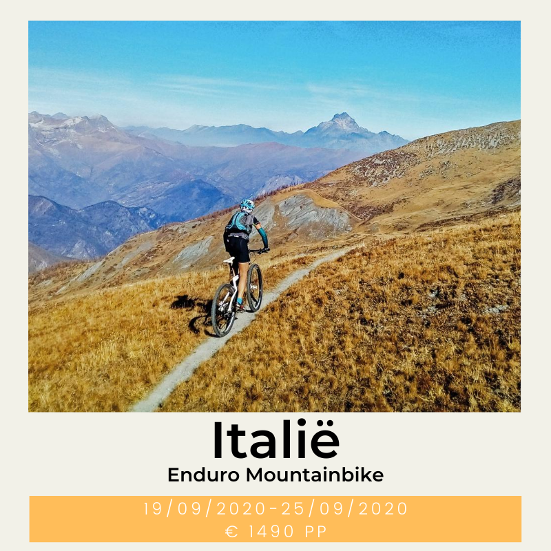 Italië Enduro Mountainbike E-mountainbike the wildlinger