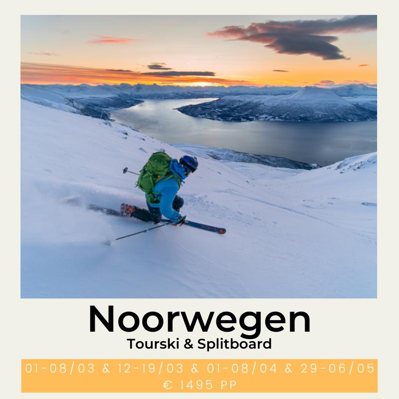 Noorwegen Tourski & Splitboard The Wildlinger