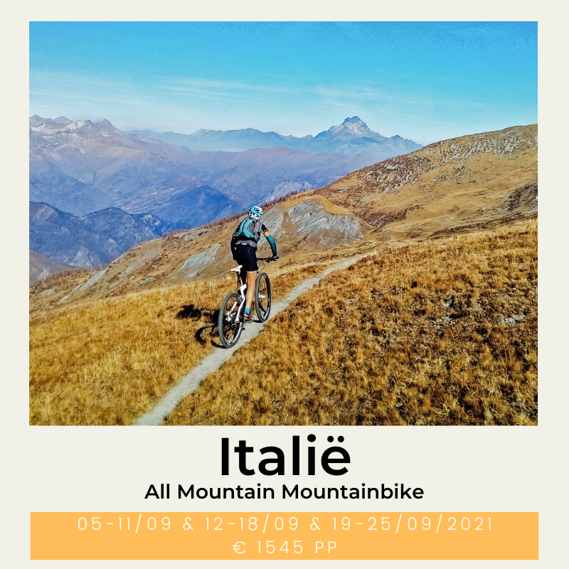 All Mountain Mountainbike Italië