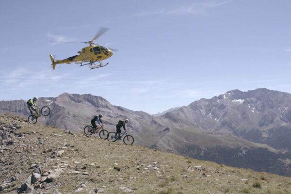 Helibike Enduro Mountainbike E-Mountainbike Spanje The Wildlinger Ainsa downhill