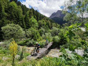 Mountainbike Noord-Macedonië E-Mountainbike The Wildlinger