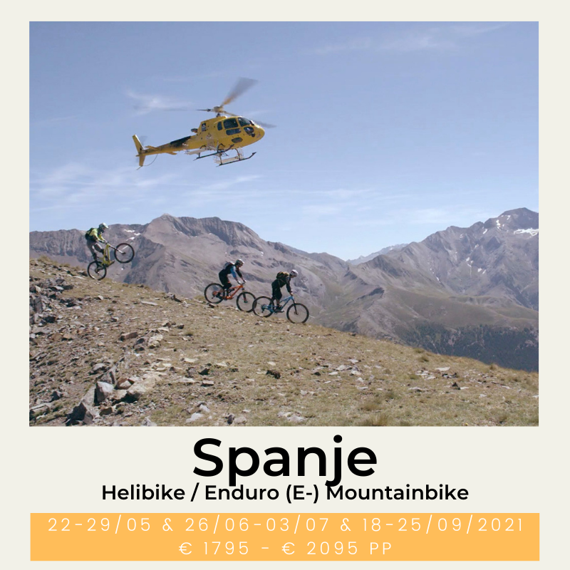 helibike enduro e-mountainbike mountainbike Spanje Zona Zero The Wildlinger