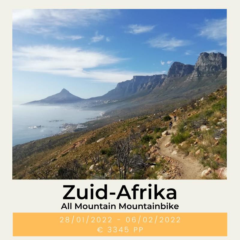 Mountainbike Zuid-Afrika The Wildlinger