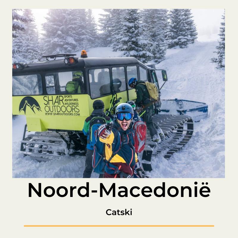 Catski Noord-Macedonië The Wildlinger freeride
