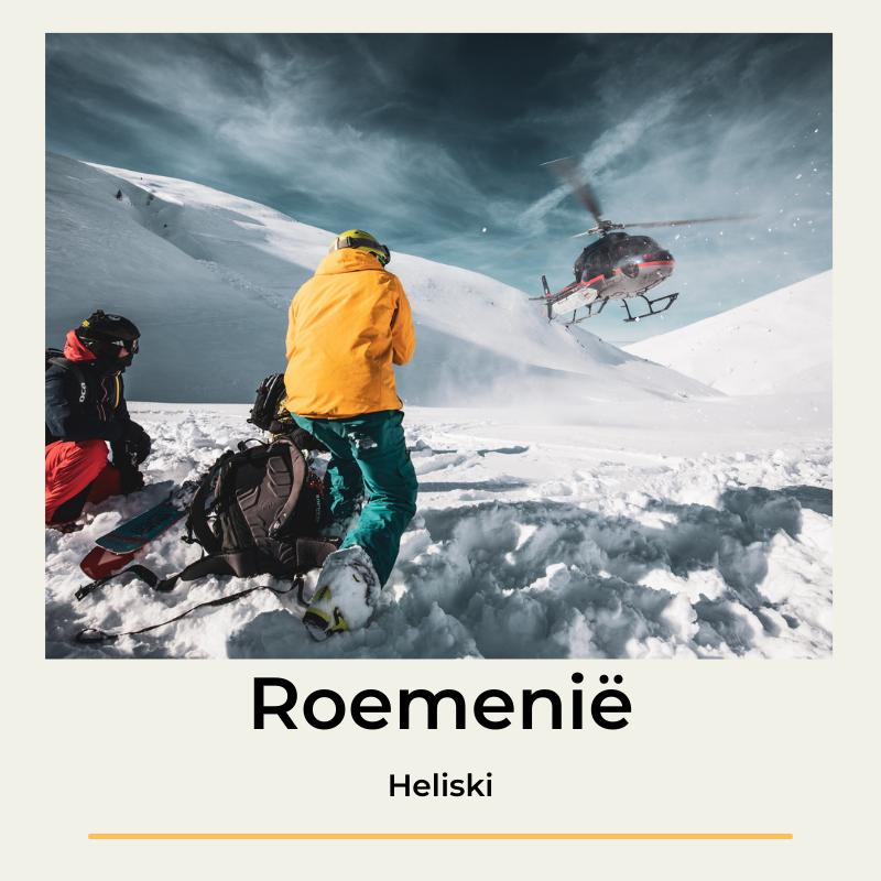 Heliski Roemenië The Wildlinger