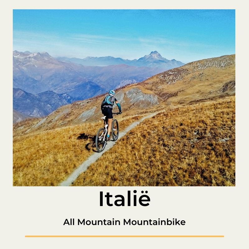 Italië all mountain mountainbike the wildlinger