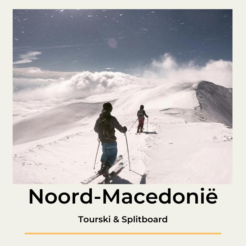 Noord-Macedonië Tourski & Splitboard The Wildlinger