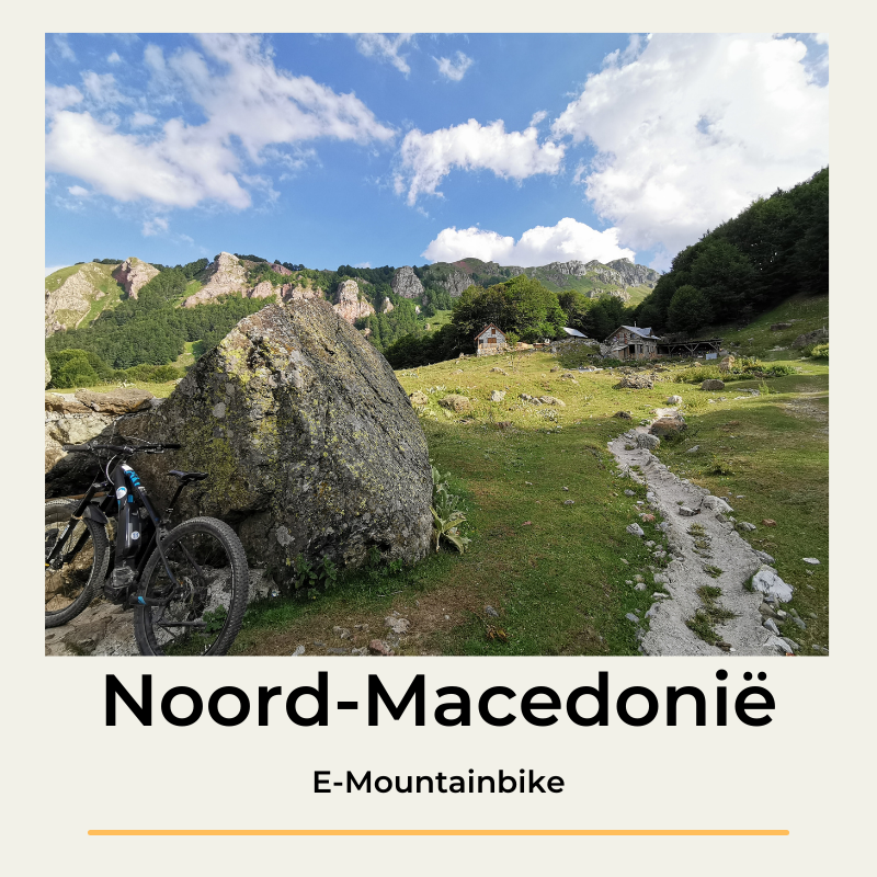 Noord-Macedonië E-Mountainbike The Wildlinger