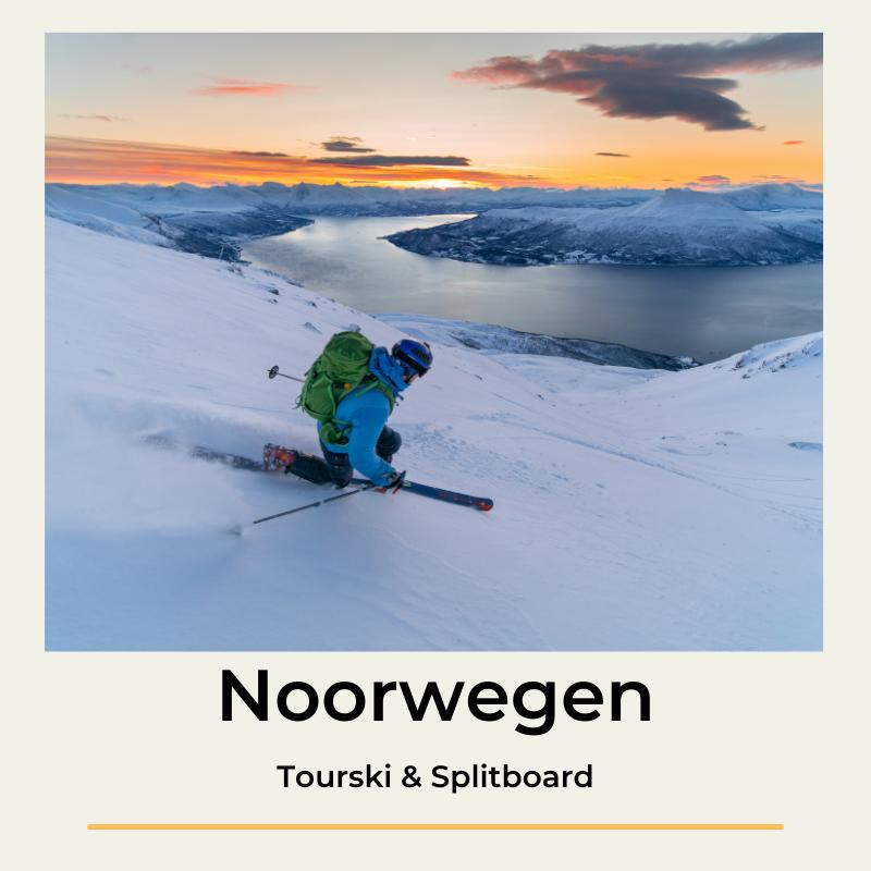 Noorwegen A True North Adventure Tourski & Splitboard The Wildlinger