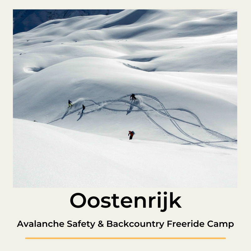 Oostenrijk Avalanche Safety & backcountry freeride camp The Wildlinger