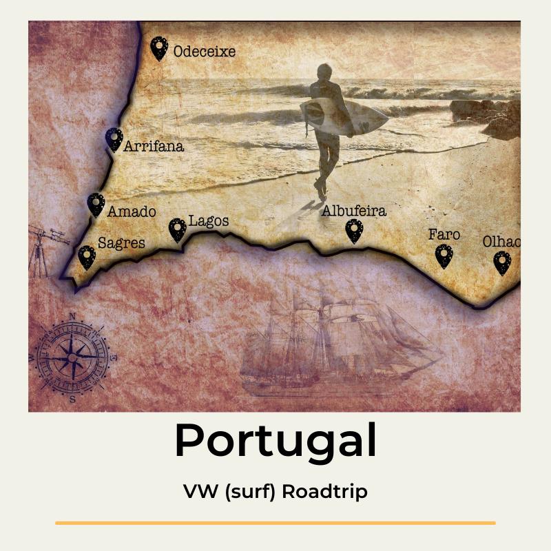 Portugal VW surf Roadtrip The Wildlinger