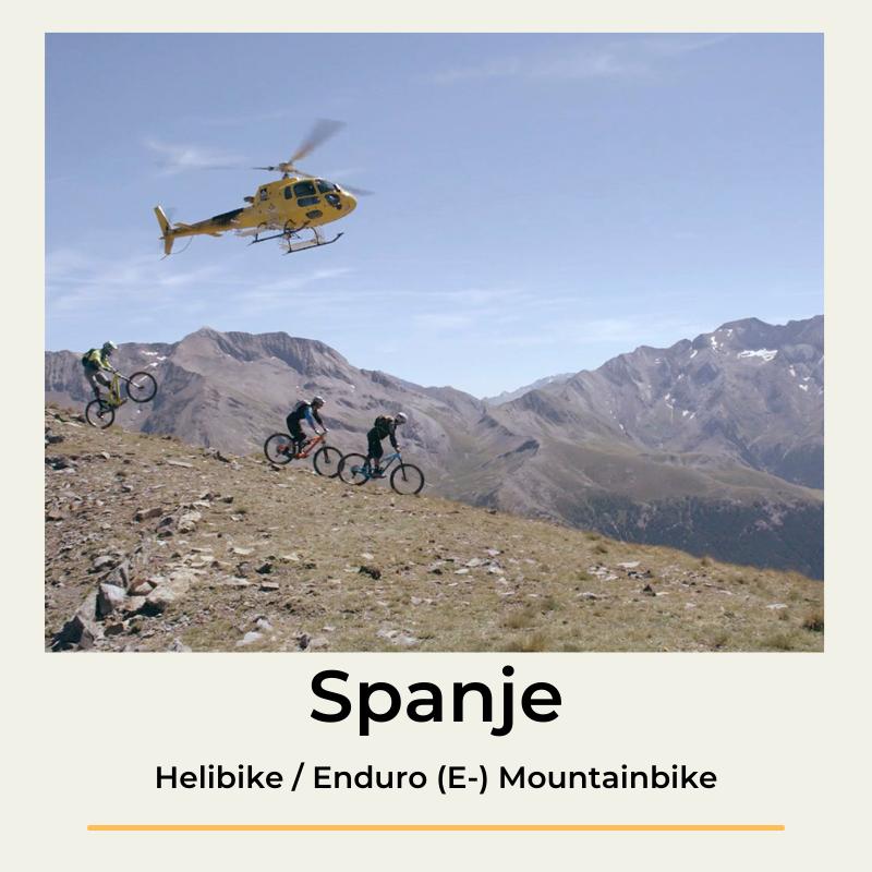 Spanje helibike enduro mountainbike Zona Zero The Wildlinger