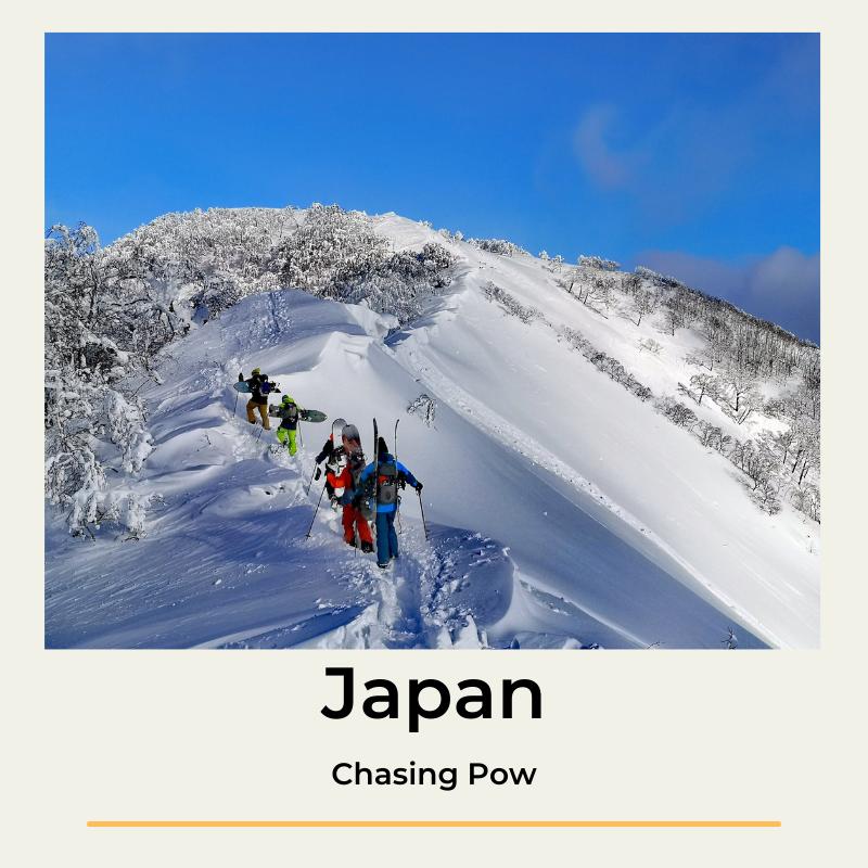 splitboard tourski Japan The Wildlinger toerski