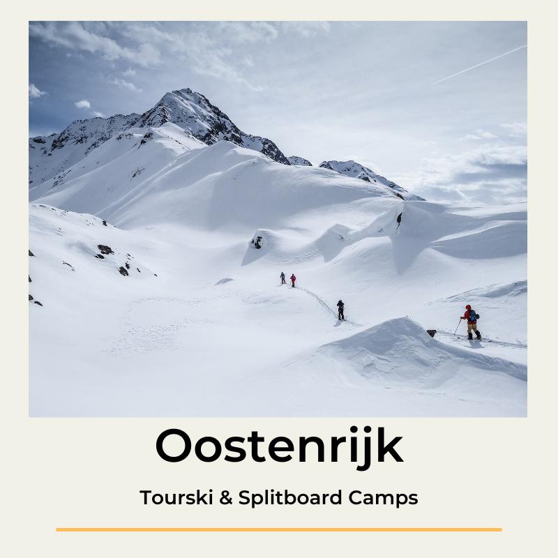 Tourski & Splitboard camps Oostenrijk beginner gevorderd The Wildlinger