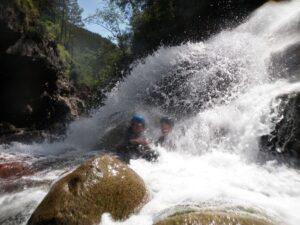 Spanje A mountain experience The Wildlinger Canyoning Mountainbike