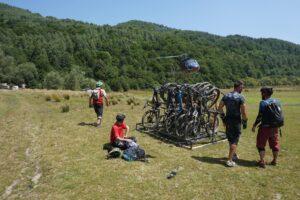 Helibike Mountainbike Roemenië The Wildlinger